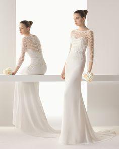 Irina vestido de novia soft Rosa Clara