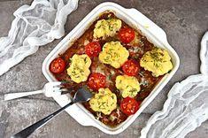 Zapiekanka z kalafiorem i mięsem mielonym | – Dietetyczne przepisy – Recipe Images, Acai Bowl, Curry, Breakfast, Recipes, Food, Curries, Meal, Eten