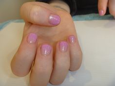 Gelish gel polish colour fade