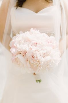 The 25 Prettiest Peony Bouquets - Style Me Pretty