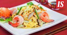 Kiinalaisia ravintoloita Helsingissä Japchae, Spaghetti, Paleo, Ethnic Recipes, Food, Gratin, Bavarian Cream, Kitchens, Zucchini