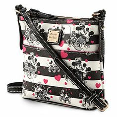 Disney Mickey and Minnie Mouse Sweethearts Letter Carrier Bag by Dooney & Bourke | Disney Store