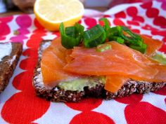 This recipe was inspired by a friend, who made similar sandwiches as an appetizer one evening. I loved the delicious cocktail sized bites, but wanted to make bigger sandwiches for brunch. Salmon  Guacamole Sandwich Homemade guacamole 2 ripe avocados 4 garlic gloves juice of one lime salt and pepper... Read More