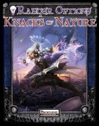 """Ranger Options: Knacks of Nature Rangers have often been neglected by the core-rules and, to be honest, never felt that unique to me and favored enemies and terrain always felt rather...boring to me - it is here that the central innovation of this pdf comes in: 19 so-called """"knacks"""" are introduced - essentially, they can be selected instead of just about any of their abilities and this supreme versatility must have been a true challenge to balance. It is the iconicity of them, though, that…"""