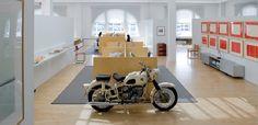 Maharam Design Studio in New York City.  Great bike.