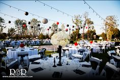 Valencia Country Club | Black, White, and Red Wedding | Unique Wedding Colors | Fun Wedding