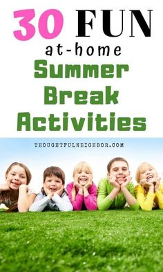 Easy & fun summer activities for kids. Summer vacation entertainment tips that include free and cheap things to do over summer break. Indoor and outdoor activities for children from toddlers and preschoolers up to preteens and teens. Outdoor Activities For Kids, Summer Activities For Kids, Summer Kids, Albion Fit, Educational Activities, Fun Activities, Adoption, Subscription Boxes For Kids, Mindfulness For Kids