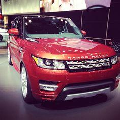 2014 Land Rover Range Rover Sport via Instagram @freddybeatz16 #NYIAS