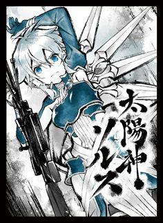 Anime Girl Drawings, Anime Art Girl, Sinon Ggo, Asada Shino, Snow White With The Red Hair, Sword Art Online Wallpaper, Cute Anime Wallpaper, Anime Comics, Fantasy Creatures