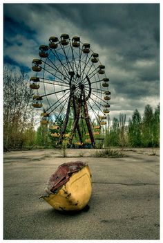 Chernobyl - Beautiful and deadly.
