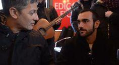 """Marco Mengoni - """"Un' estate Fa"""" (cover) Edicola Fiore 13 02 2014"""
