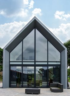 Beautiful Architecture, Architecture Details, House Extension Design, House Design, Riverside House, Modern Barn House, A Frame House, Dream House Exterior, Window Design