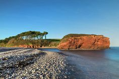 Budleigh Salterton - England Art Print by Joana Kruse. All prints are professionally printed, packaged, and shipped within 3 - 4 business days. Budleigh Salterton, Thing 1, Devon, All Art, Childhood Memories, Landscape Photography, Fine Art America, Beaches, Places To Go