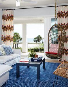 24 x 36 Kess InHouse Laura Evans Small Spaces Beach Coastal Luxe Rectangle Panel