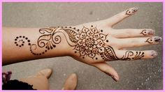 23 Best Girl Henna Tattoos Images