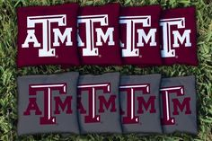 Texas A&M Aggies All Weather Cornhole Replacement Bag Set