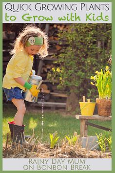 Quick Growing Plants to Plant with Kids