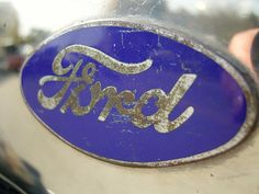 Iconic Ford logo. Seen everywhere in Dearborn, and the favorite font of local establishments too.