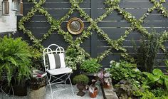 An Insanely Chic (and Simple!) Garden Trellis DIY