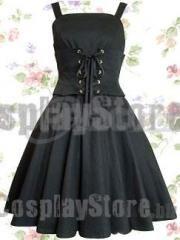 Discount Black Bandage School Lolita Dress