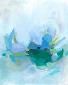 """""""Morning by the Waves"""" by Cortney North. Fine art abstract print. Available in 8x10, 11x14 and 13x19 sizes."""