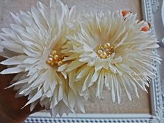 Hey, I found this really awesome Etsy listing at https://www.etsy.com/listing/205253310/wedding-flower-clip-flower-for-hair