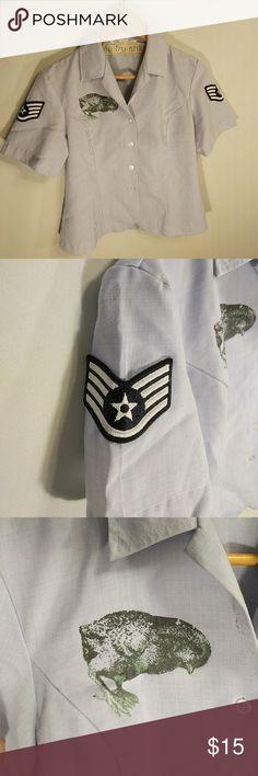 Matrushka custom air force button up. Medium. Matrushka custom air force button up. Medium. matrushka Tops Button Down Shirts