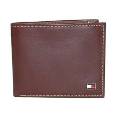 Tommy Hilfiger Men's Leather Logan Passcase Bifold Wallet with Zipper Bill Slot Tommy Hilfiger Wallet, Billfold Wallet, Leather Men, Just For You, Zipper, Men's Wallets, Logan, Slot, Larger