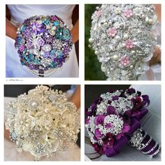 Creative Broach Bouquets