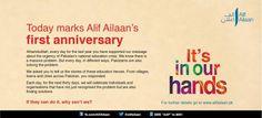 Join us as we celebrate Pakistan's education heroes. #AlifAilaan