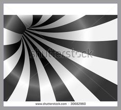 Abstract vector black and white striped background