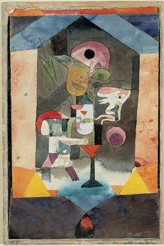 Paul Klee, Remembrance Sheet of a Conception 1918, Norton Simon Museum (Pasadena, USA)