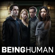 # Being Human; U.S.A. Aiden Vampire,  Nora Werewolf, Josh Werewolf, and Sally Ghost