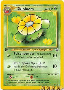 Pokemon Neo Genesis Card 49 - Skiploom $0.99-$2.00