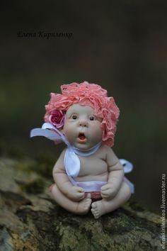 Elena Kirilenko collection dolls Куклы-младенцы и reborn ручной работы. Ярмарка Мастеров - ручная работа Жозефина в розовом. Handmade.