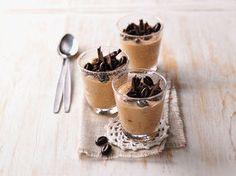 Kaffeecreme mit Zartbitter-Schokolade