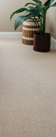 Ravine wool carpet in Oatmeal - as seen in Kyal and Kara's Long Jetty reno. Ravine wool carpet in Oatmeal – as seen in Kyal and Kara's Long Jetty reno. Wall Carpet, Diy Carpet, Carpet Stairs, Modern Carpet, Bedroom Carpet, Living Room Carpet, Carpet Flooring, Carpet Ideas, Contemporary Carpet