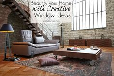 Beautify your home with creative window ideas. #decor #home #design