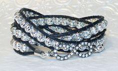 Hey, I found this really awesome Etsy listing at https://www.etsy.com/listing/220965033/infinity-triple-wrap-bracelet-swarovski