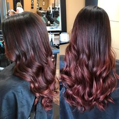 Black Coffee Hair With Ombre Highlights - 10 Cool Ideas of Coffee Brown Hair Color - The Trending Hairstyle Brown Hair Cuts, Brown Hair Looks, Light Brown Hair, Gold Hair Colors, Hair Color Dark, Dark Hair, Grey Hair, Coffee Brown Hair, Coffee Hair