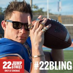 jumpstreetmoviesintl:  Jonah Hill and Channing Tatum are back in the action comedy 22 Jump Street. Only At Cinemas 2014.