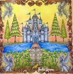 Enchanted forest Johanna basford Video: http://youtu.be/lVf9KM86Vz8 Colored by julie bouve