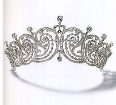 Created for Adele Grant of New York by Cartier, Paris of 759 brilliants and 289 rose-cut diamonds. Ms Grant's beauty was renowned, and, I'm sure, helped create her English Countess of Essex in 1893. A 1902 Cartier creation.