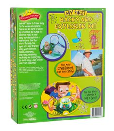 7ad5f6c9f6 With My First Backyard Explorer Kit by Scientific Explorer beginner  scientists will find all the tools to explore nature around them.