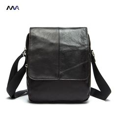 MVA Genuine Leather Men Bags Fashion Man Leather Bag Crossbody Shoulder Handbags Men's Messenger Bags Male Small Bag