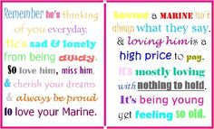 "You could change out ""Marine"" for Soldier, Airman, Seabee, and just about any military job too :) Military Quotes"