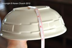 microwave bowl holder - free tutorial