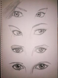 Eyes Eyes, Female, Drawings, Art, Drawing Drawing, Sketches, Craft Art, Sketch, Kunst