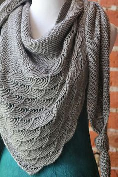 This week's project inspiration is fresh off my needles! The Rheinlust Shawl was a pleasure to knit, and I have a few yarn suggestions you might love...