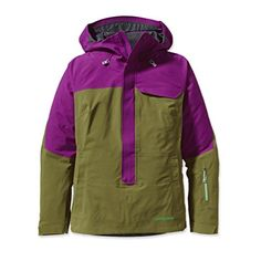 The new female ambassador-driven Untracked Anorak has a progressive design and an articulated women's fit. Built with 3-layer GORE-TEX® fabric engineered with ...